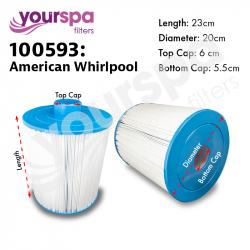 Filter - American Whirlpool - 400 Series ( Short ) 100593