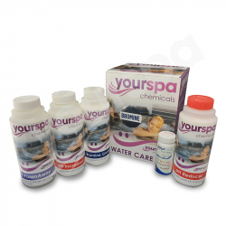 Yourspa Water Treatment Starter Kit - Bromine