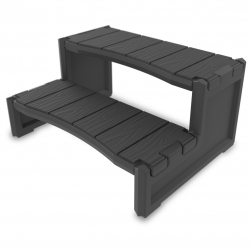 Aqua Steps Deluxe ( rubber tread ) Compact Version
