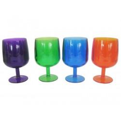 Set 4 Acrylic Small Wine Glasses