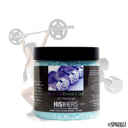 Spazazz His and Hers 4oz Jars - Various Fragrances