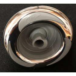 Jet - LA Spas - 5 Inch - Swirl - Stainless Steel - Logo