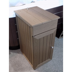 "Spa side Cabinet 18"" wide x 35"" High x 22"" deep Mocha"